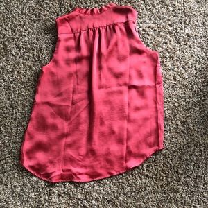 Clay color satiny blouse size M